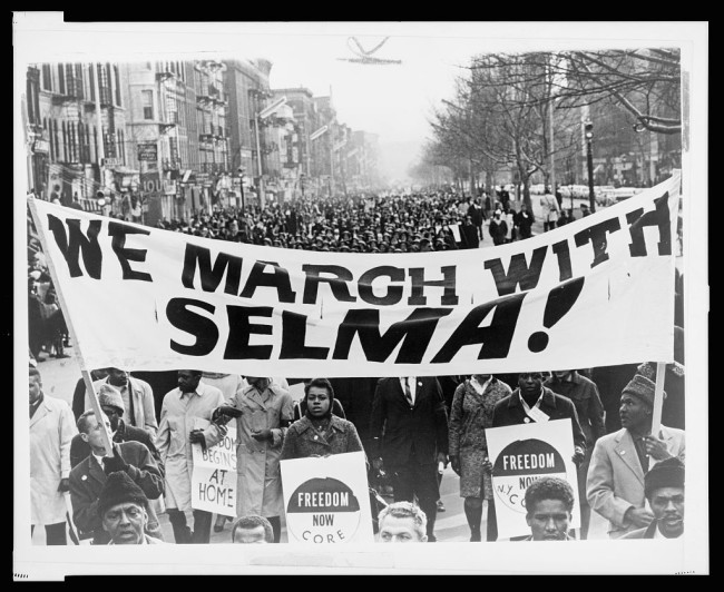 Harlem march in in solidarity with Selma, Ala. | Zinn Education Project