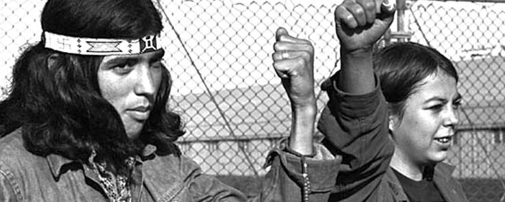 Alcatraz Island Occupiers, 1971