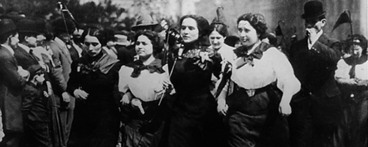 Bread and Roses March, 1912