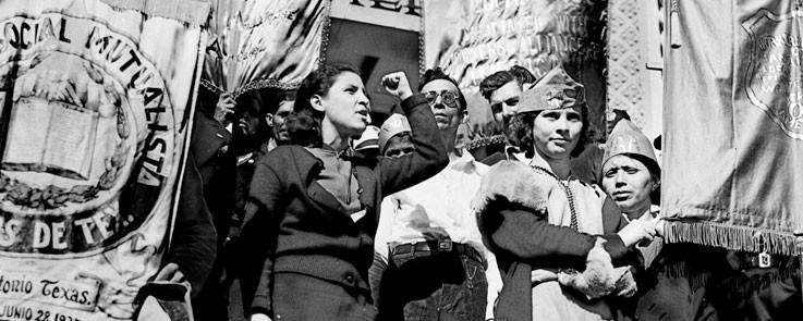 Emma Tenayuca, labor activist, 1937