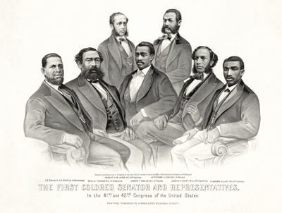 first African American senator and representatives | Zinn Eudcation Project: Teachign People's History