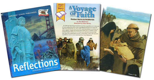 Textbook pages about missions | Zinn Education Project