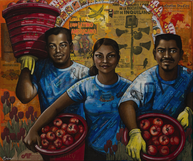 The Harvesters by Erin Currier.