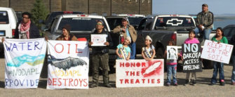 No #DAPL crowd   Zinn Education Project: Teaching People's History