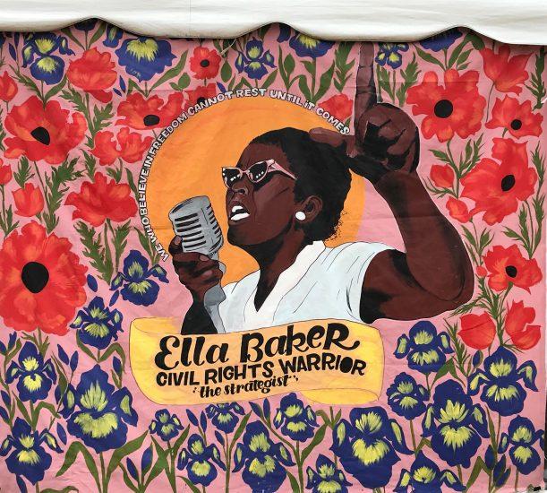 Ella Baker banner