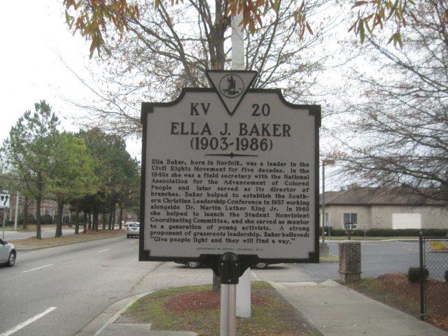 Ella Baker marker