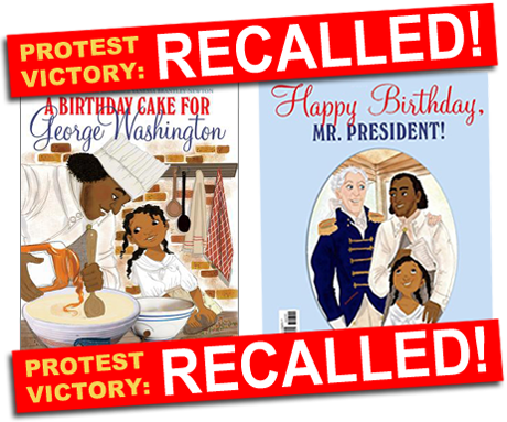 A Birthday Cake for George Washington Recalled