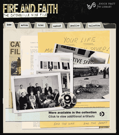 Catonsville Nine Website | Zinn Education Project: Teaching People's History