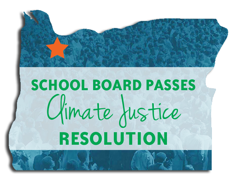 Portland Passes Climate Resolution | Zinn Education Project: Teaching People's History