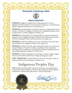 Abolish Columbus Day: Resolution - Anchorage, Alaska | Zinn Education Project: Teaching People's History