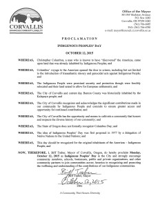 Abolish Columbus Day: Resolution - Corvallis | Zinn Education Project: Teaching People's History