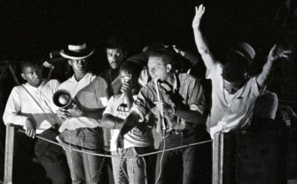 """Stokely Carmichael delivers his famous """"Black Power"""" speech 