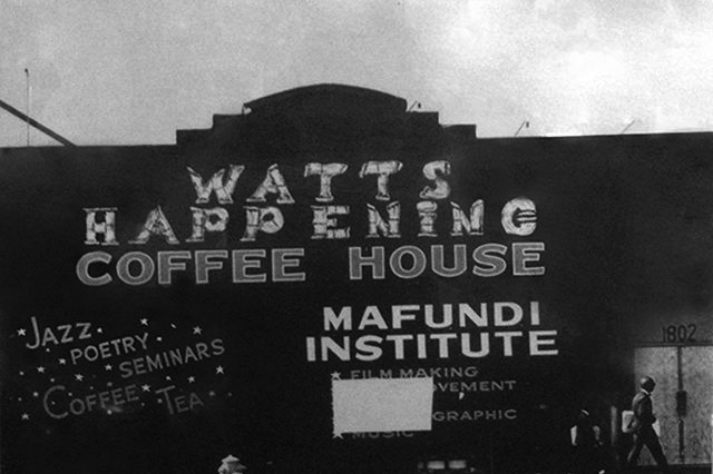 Watts Happening Coffee House | Zinn Education Project: Teaching People's History