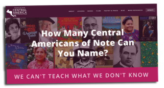 Teaching Central America Website   Zinn Education Project: Teaching People's History