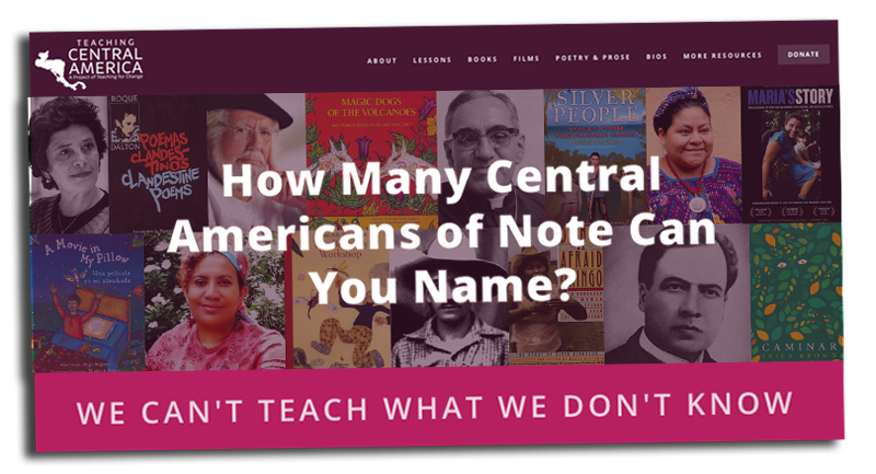 Teaching Central America Website | Zinn Education Project: Teaching People's History
