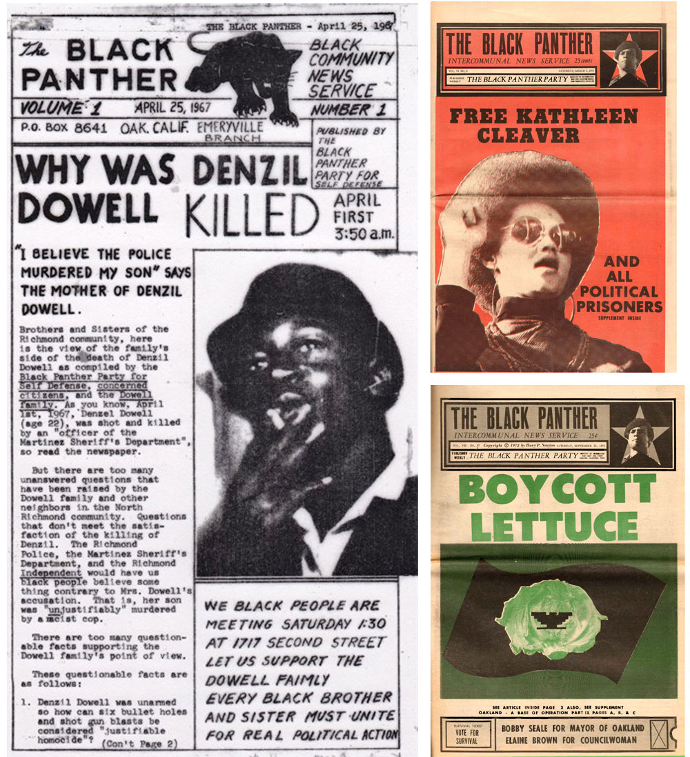 Black Panther Party newspapers | Zinn Education Project: Teaching People's History