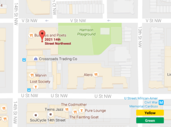 Busboys and Poets Map