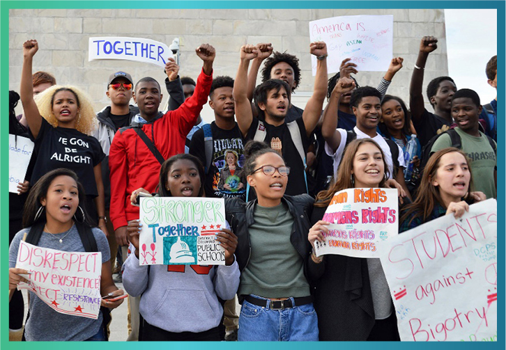 D.C. Student Protest, 2016 | Zinn Education Project: Teaching People's History