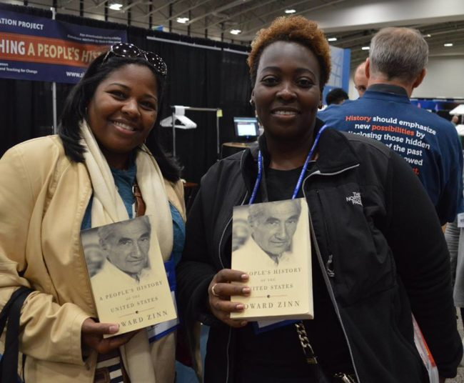 Raffle winners at NCSS 2016 | Zinn Education Project: Teaching People's History