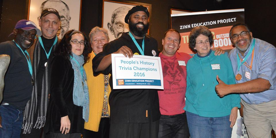 People's History Trivia Night - Winning Team | Zinn Education Project: Teaching People's History