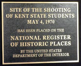 Kent State Massacre Marker - Howard Zinn: Our Favorite Teacher - Laurel Krause | Zinn Education Project: Teaching People's History