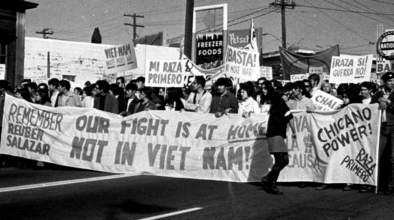 Antiwar march October 31, 1970, Seattle, Wash. Image: University of Washington.