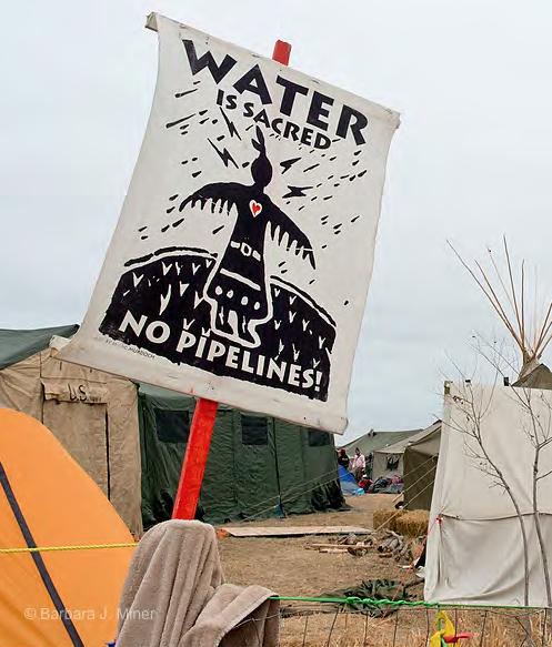 Standing Rock Camp | Zinn Education Project: Teaching People's History