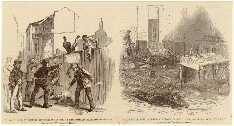 The New Orleans Riot at Mechanics' Institute | Zinn Education Project: Teaching People's History