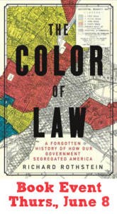The Color of Law Book Event - D.C. | Zinn Education Project: Teaching People's History