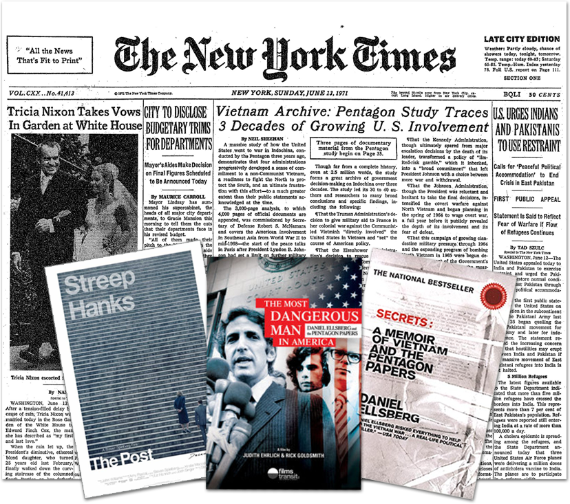 Pentagon Papers Collage