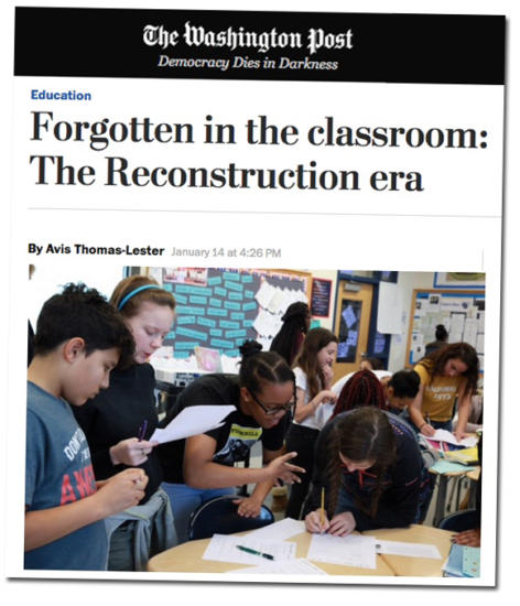 Forgotten in the classroom: The Reconstruction era (Article) | Zinn Education Project: Teaching People's History