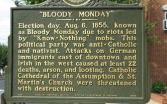 Bloody Monday Kentucky 1855