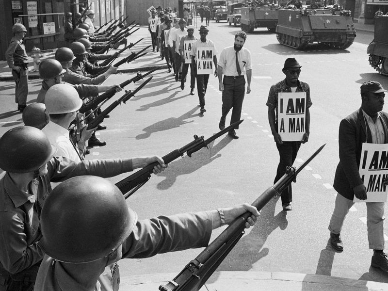 Sanitation Workers Protest 1968