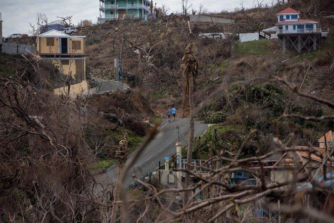 US Virgin Islands Hurricane Irma