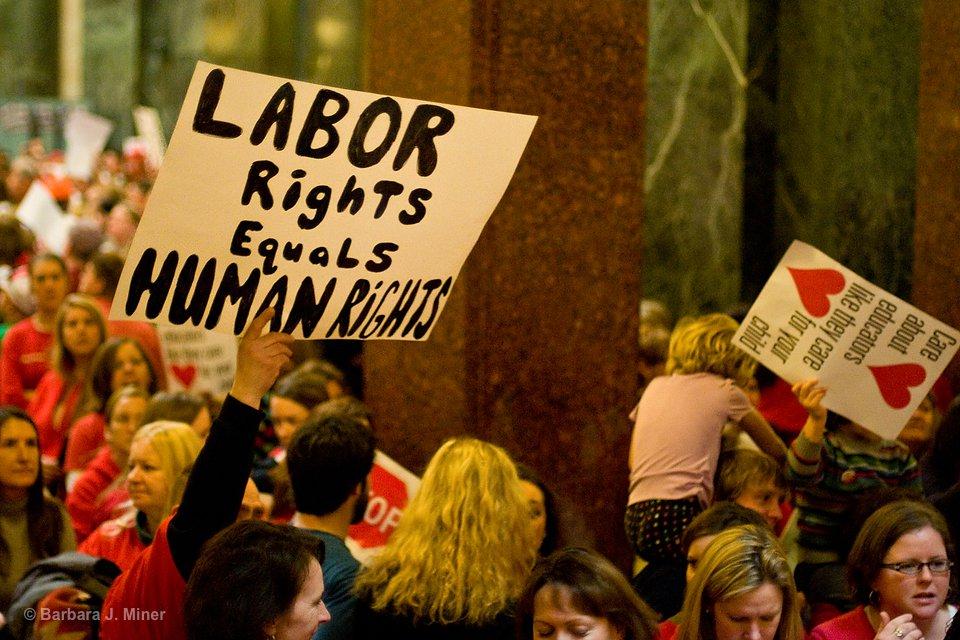 Wisconsin Workers Unite 2011