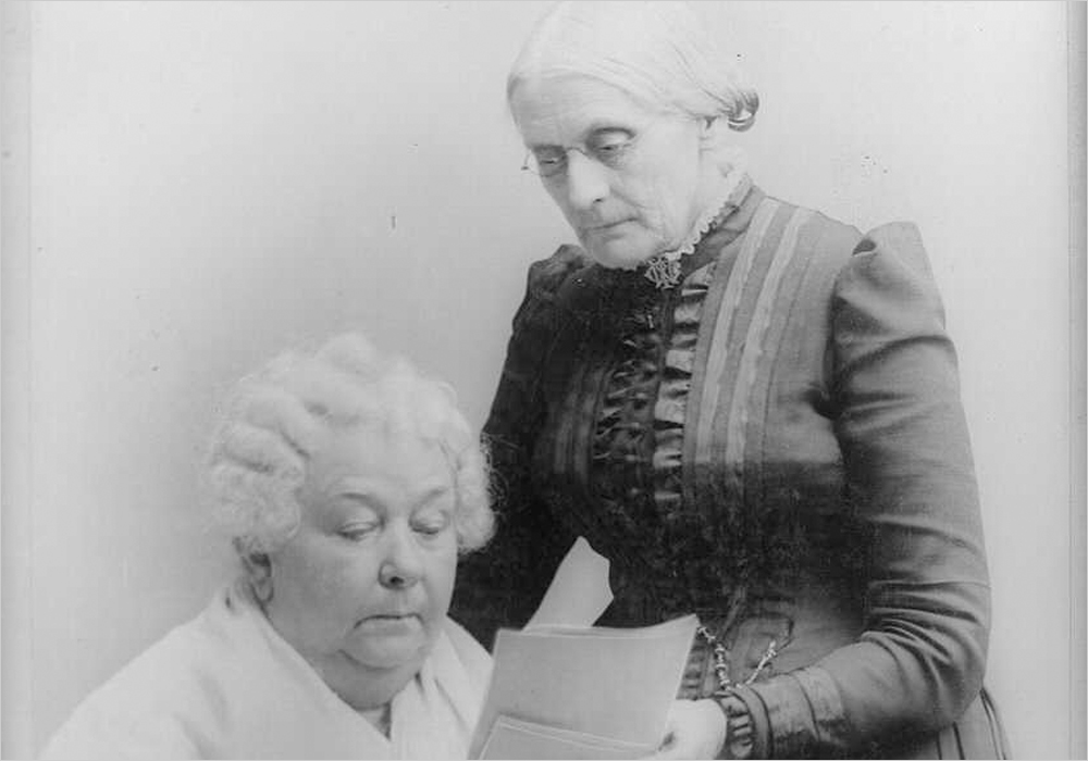 Susan B. Anthony and Elizabeth Cady Stanton | Zinn Education Project
