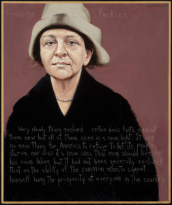 Frances Perkins Painting