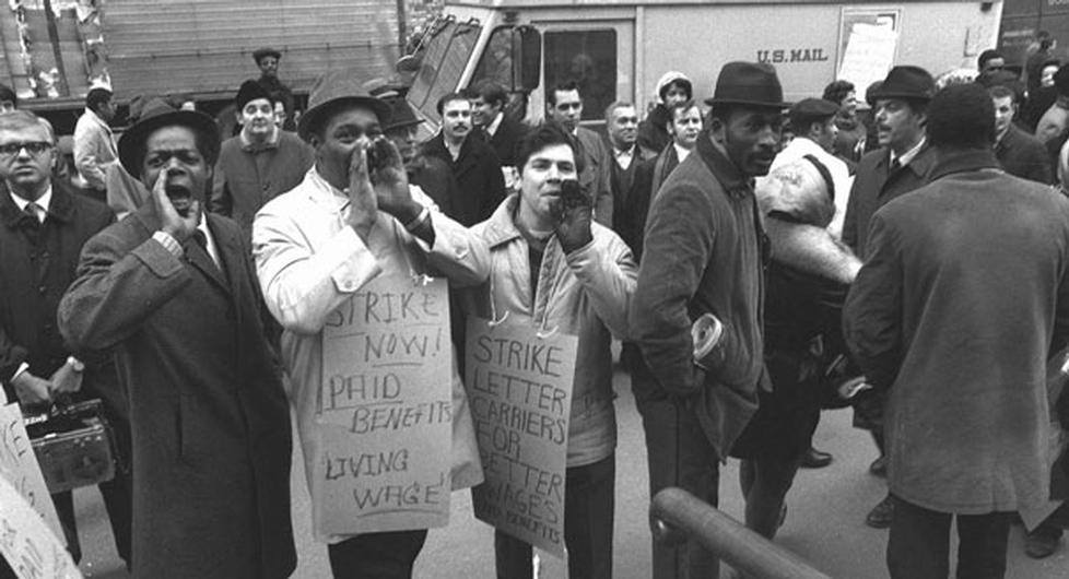 Image result for us postal strike 1970 images