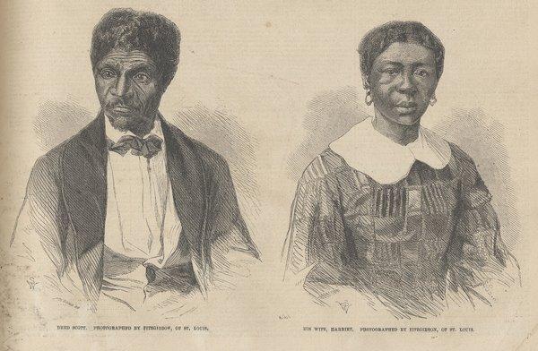 Dred and Harriet Scott 1857