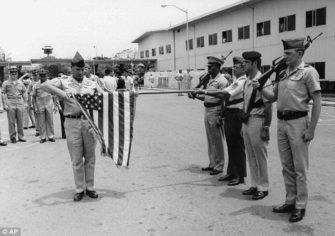 Last Troops in South Vietnam 1973