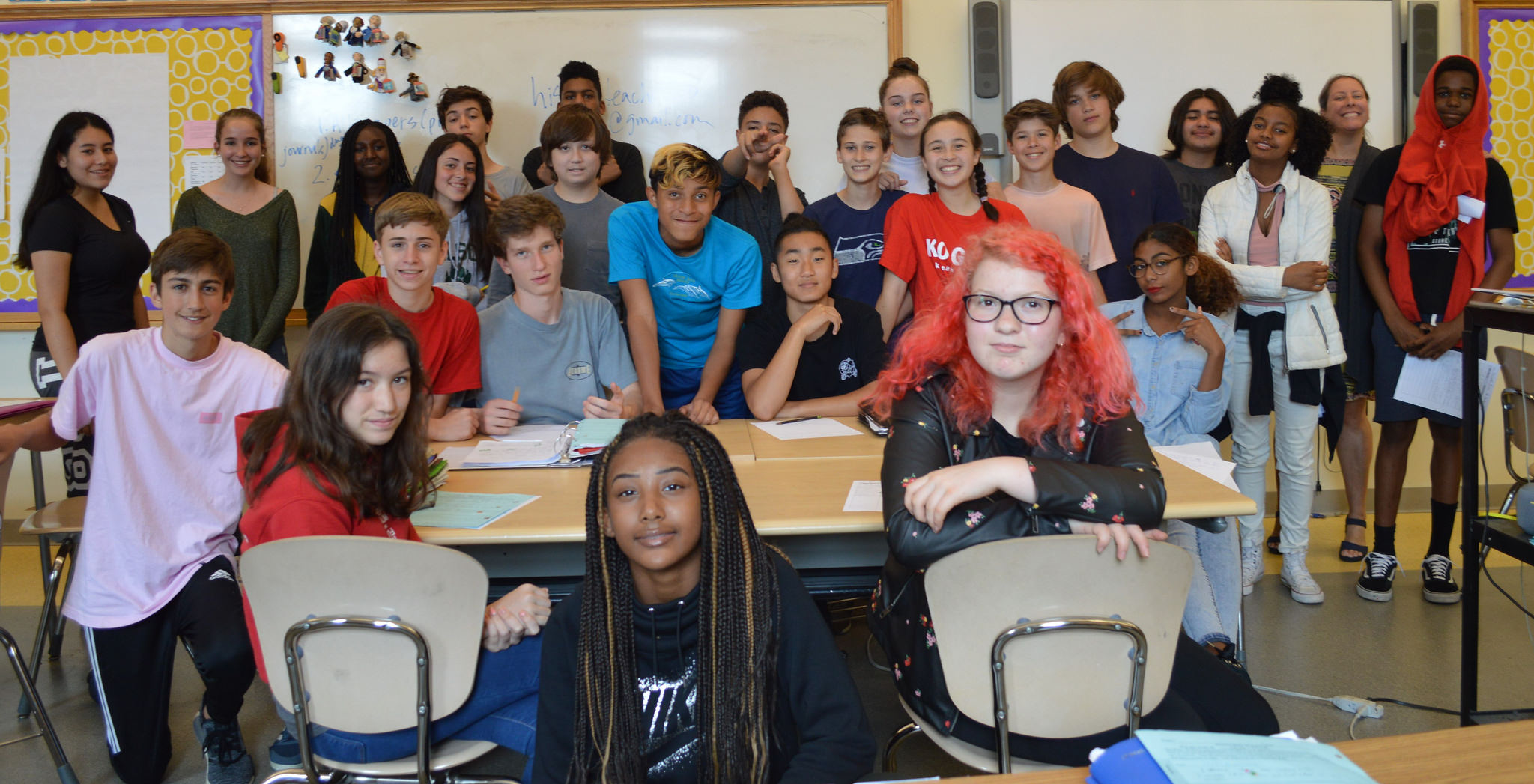 Deal Middle School Class | Zinn Education Project