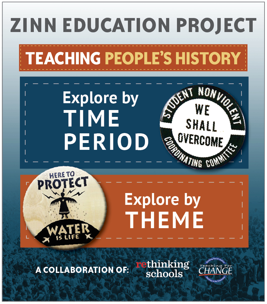 About the Zinn Education Project