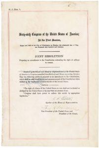 19th Amendment | Zinn Education Project