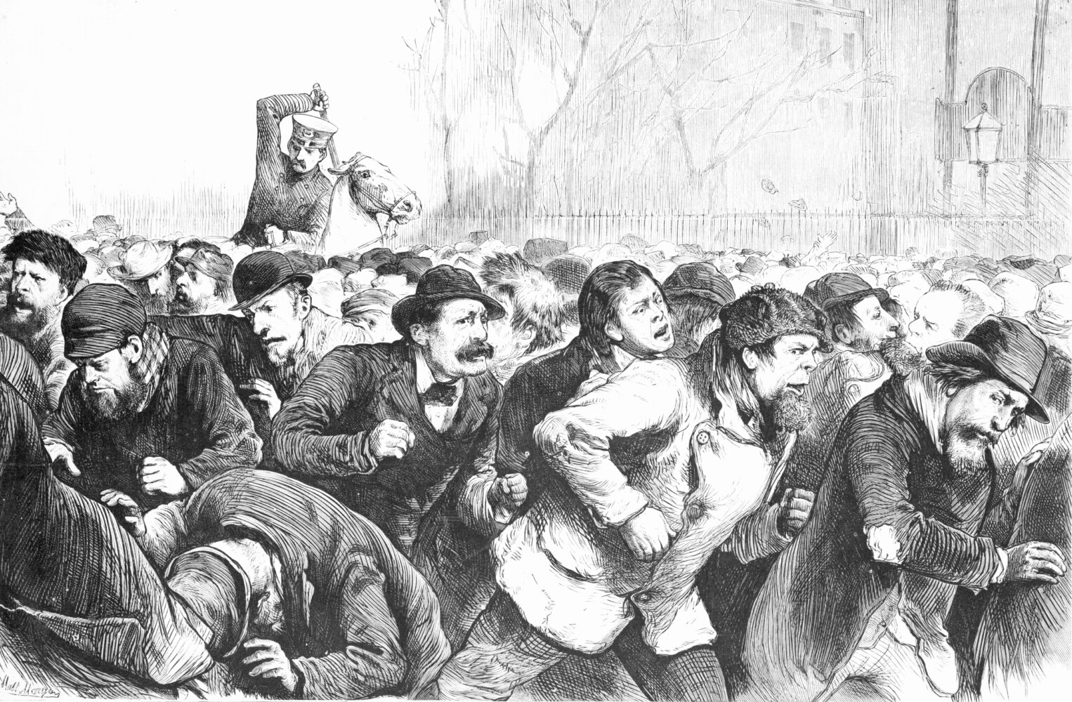 The NYC Tompkins Square Riot (art) | Zinn Education Project