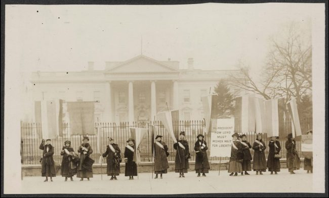Suffragists White House | Zinn Education Project