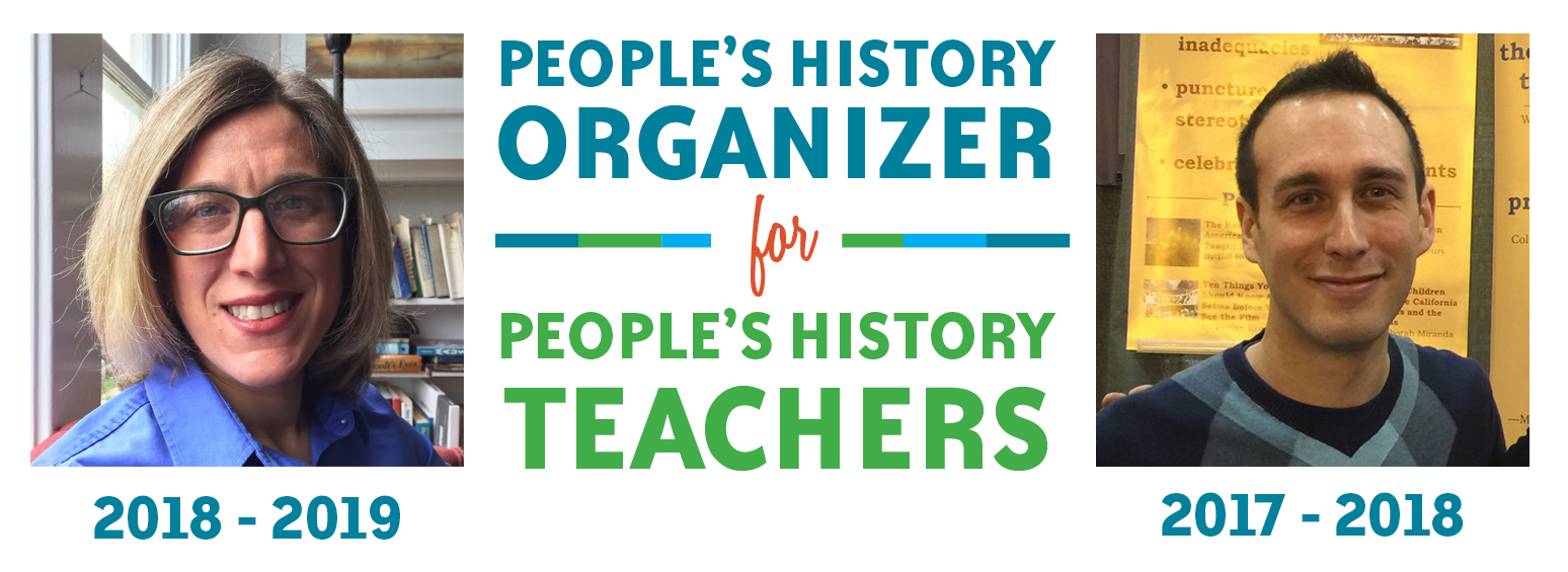 New Teacher Organizer Banner | Zinn Education Project