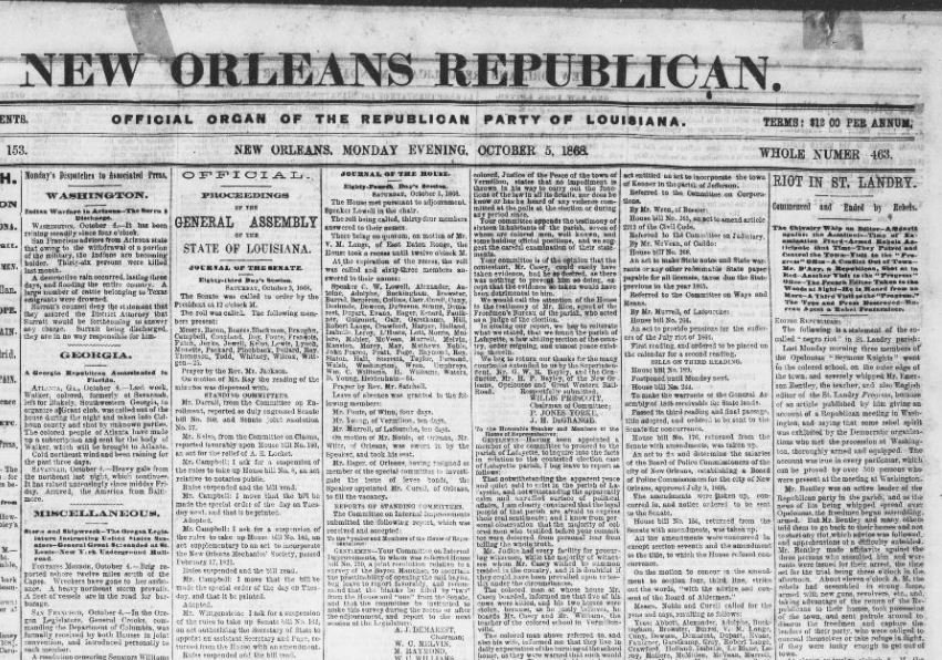 Opelousas Massacre | Zinn Education Project