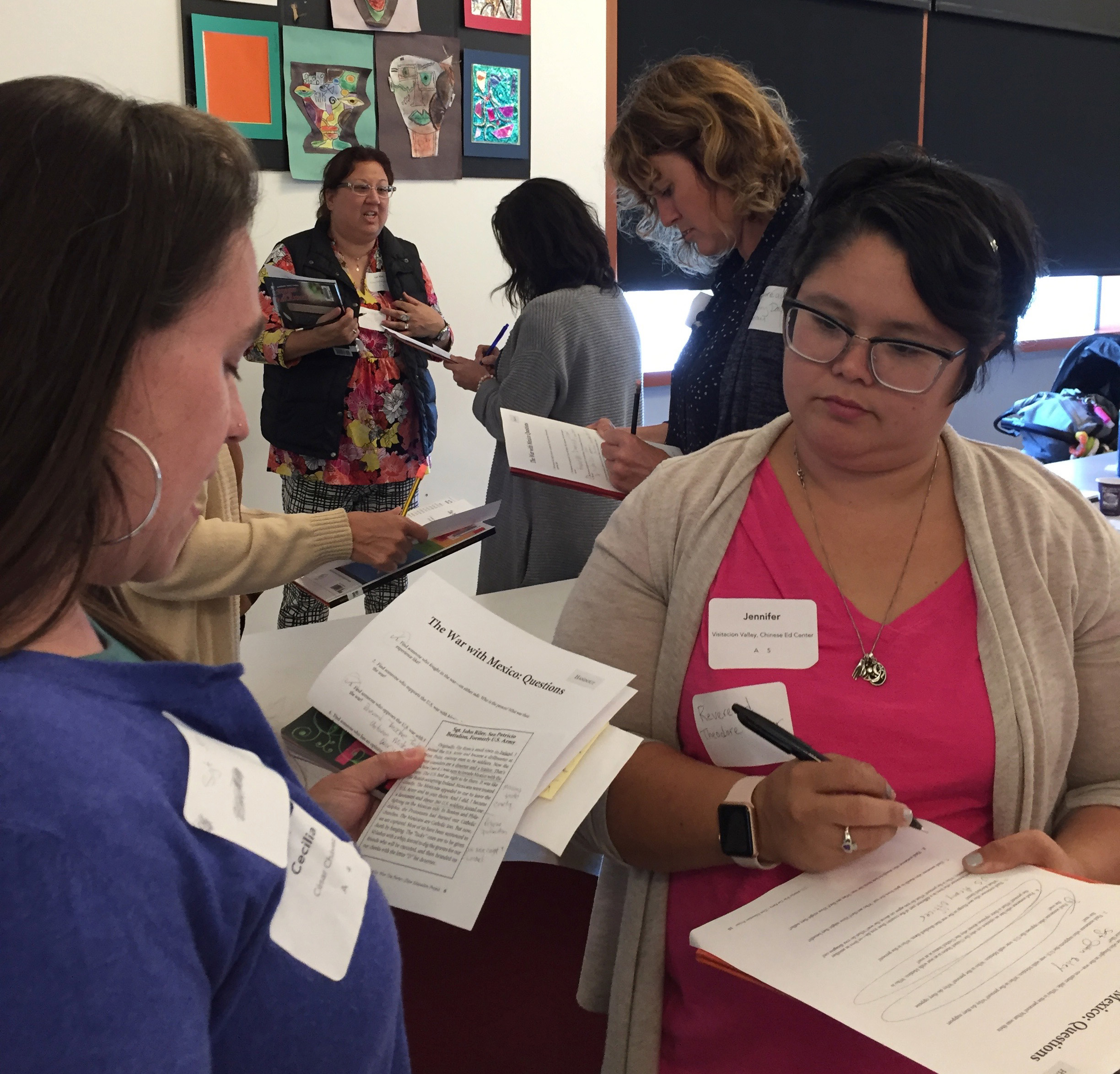 San Francisco Unified School District Workshop 1 | Zinn Education Project