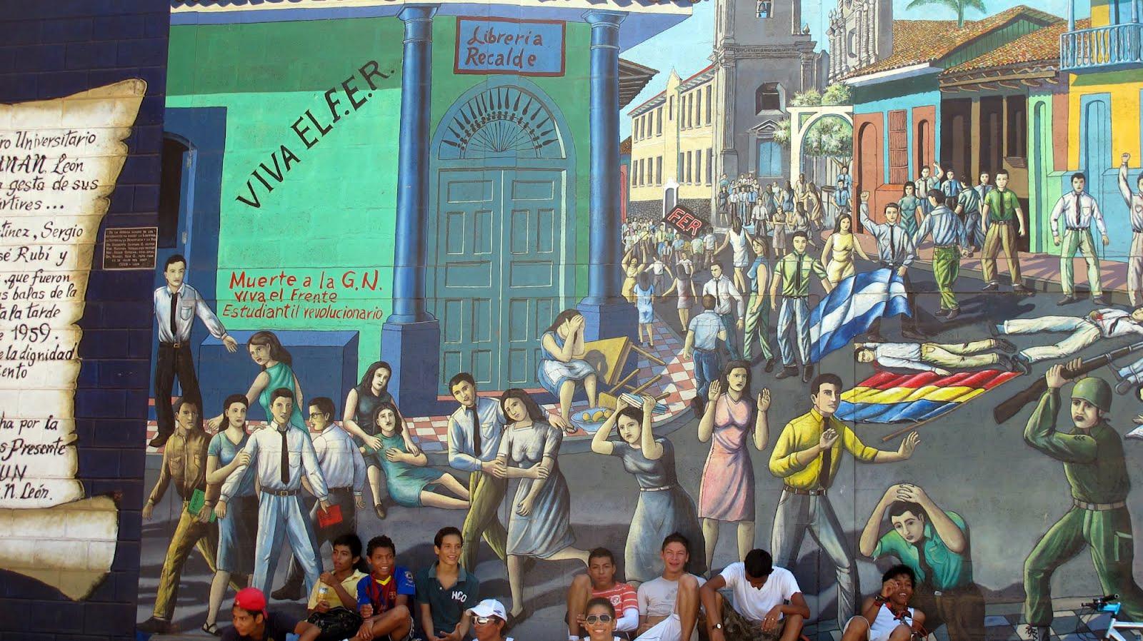 Nicaragua Mural | Zinn Education Project