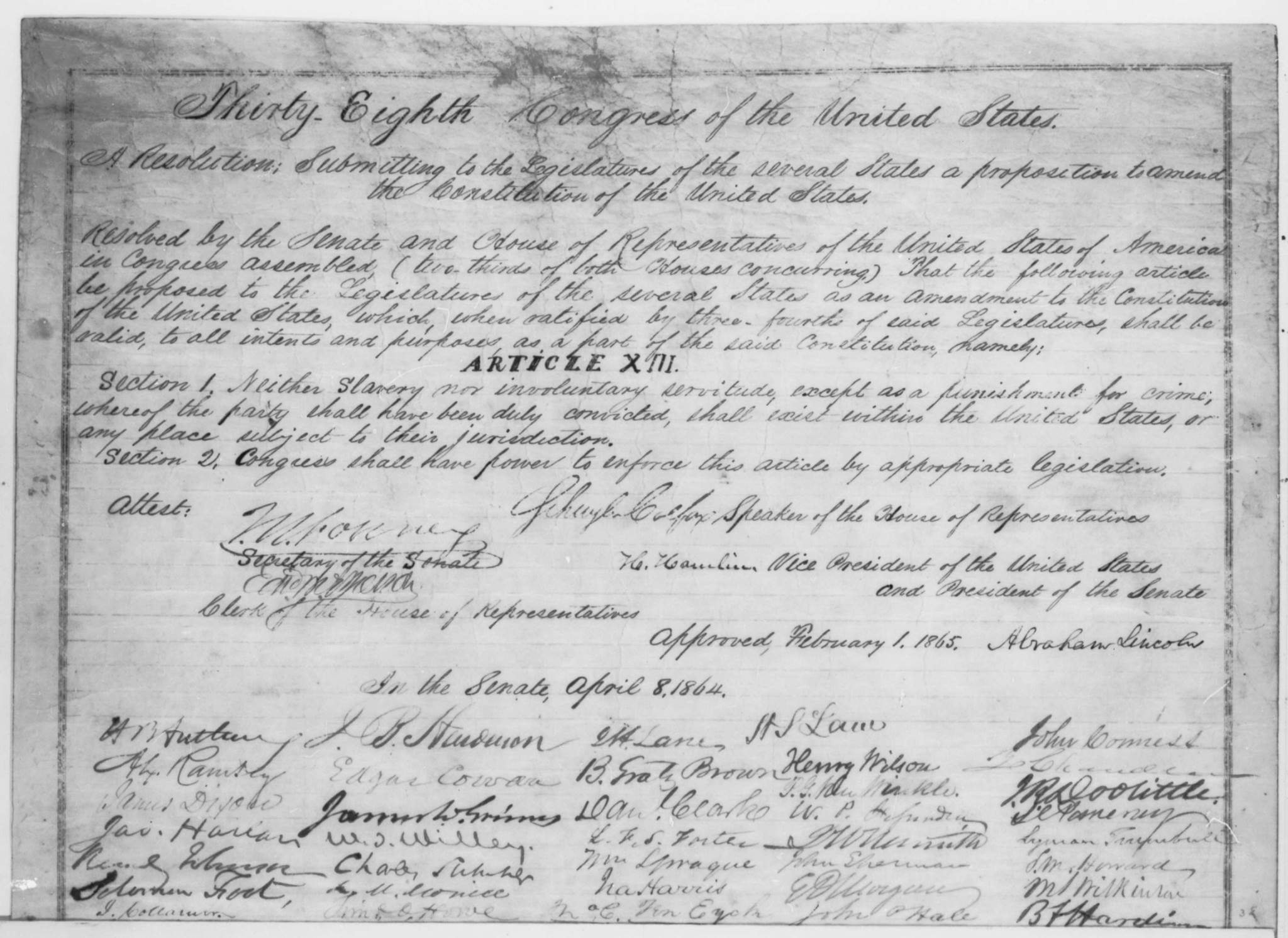 Thirteenth Amendment | Zinn Education Project